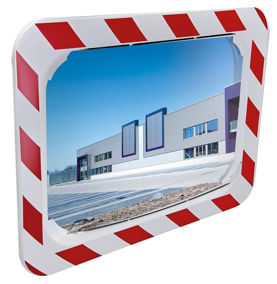 Miroir industrie carré
