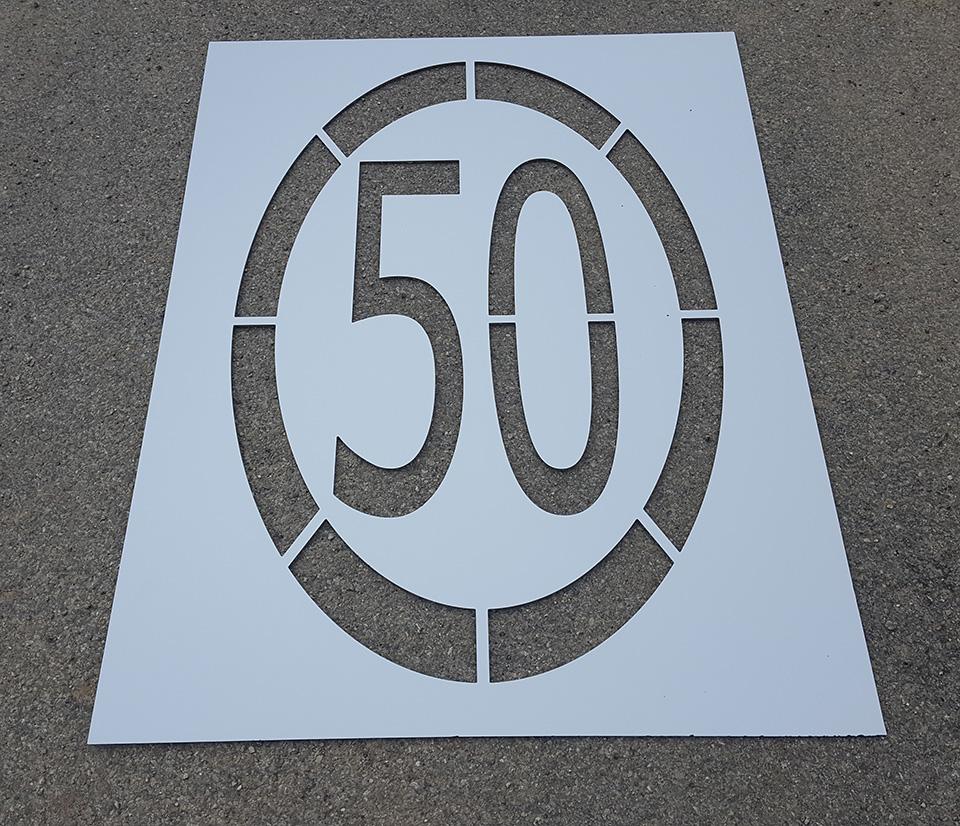 Pochoir 50
